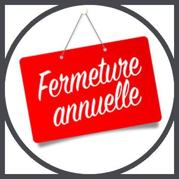 Fermeture Annuelle…